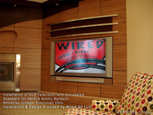 Residential Custom Television Installation