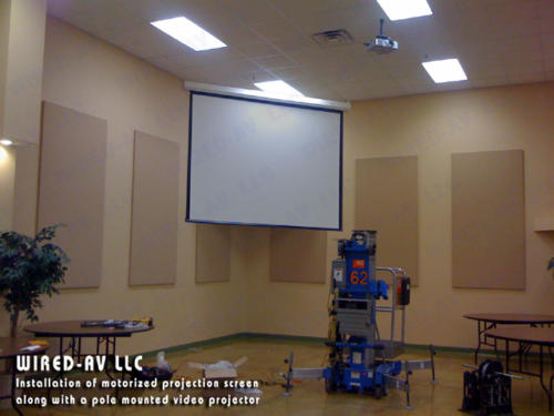 Installing Projection Screen