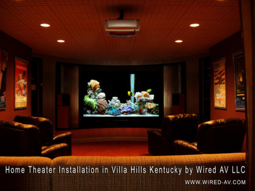 Residential Home Theater Installation