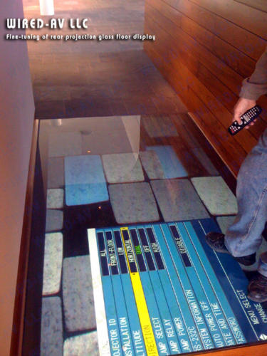 Rear Projection Project Flooring
